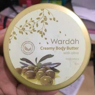 Wardah creamy body butter