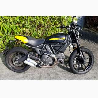 Ducati Scrambler Full Throttle (Almost New)