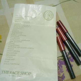 The Face Shop Flat Velvet Lipstick