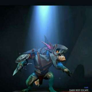 Dota 2 Dark Reef Escape Set Slark