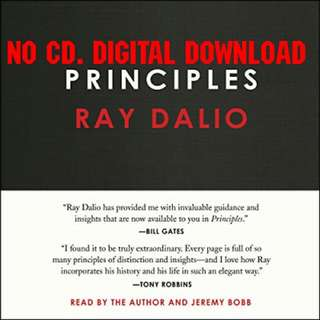 Principles by Ray Dalio (AUDIOBOOK)