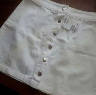 A line butto skirt h&m hnm