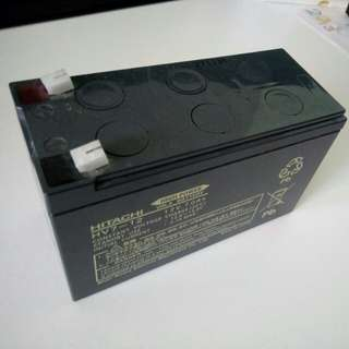 SLA Sealed Lead Acid Battery (12V 7Ahr Hitachi)