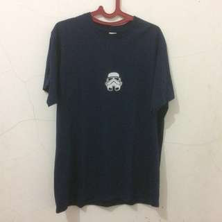 Kaos Patch Navy Blue