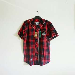 NEW- jersey flannel blackstar