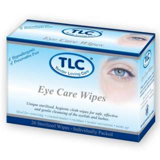 Brand New TLC eye care wipes (expires 06.2021)