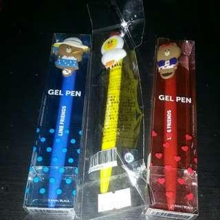 Line Friends Gel Pen