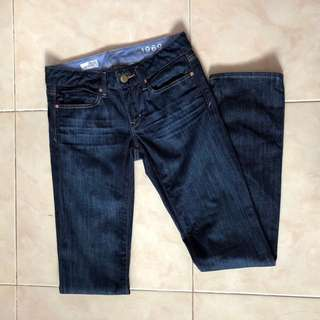 BN Gap 1969 Real Straight Low Rise Jeans