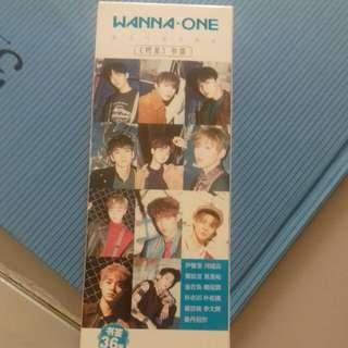 Wanna One bookmark