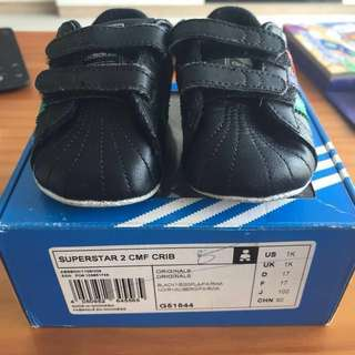 Authentic adidas baby boy prewalker shoes