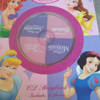 Disney Princess CD Storybook