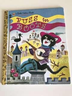 Puss In Boots - Little Golden Book