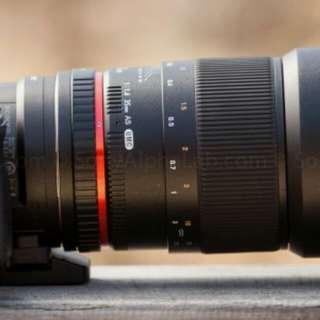 Samyang 85mm F1.4 Sony E mount