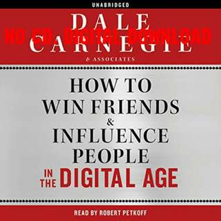 How to Win Friends and Influence People in the Digital Age (AUDIOBOOK)