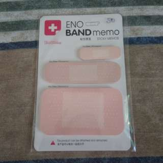 Band Aid Post-it Set