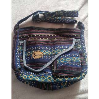 Traditional Design Sling Bag