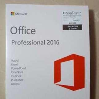 Microsoft Office 2016 pro plus for windows/MAC pc