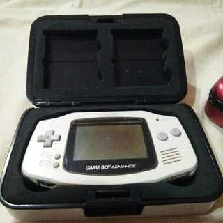 Gameboy advance with case