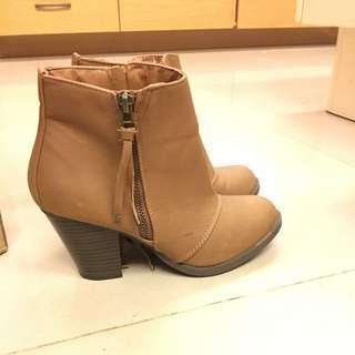 🚚 《降》澳洲購入 咖啡色短靴 7