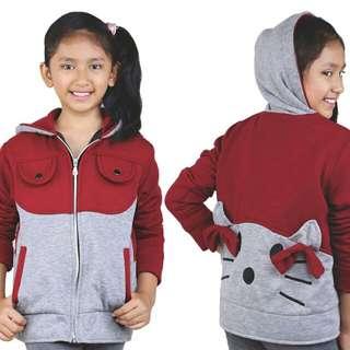 Jaket Kasual Anak Perempuan