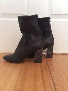Black Betts Boots