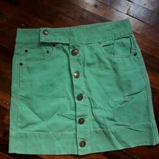 Izzue Button down skirt
