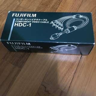 Fujifilm component video cable