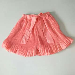 Orange Skirt Pants (c010)