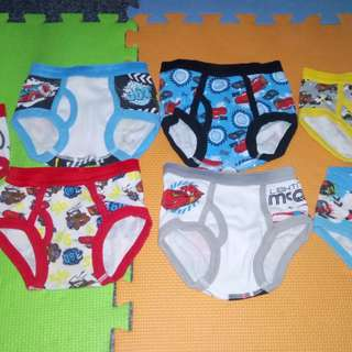 Briefs for 2 to 3 yrs old.