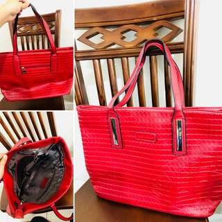 Michaela Red Bag