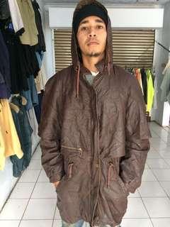 Jaket kulit impor