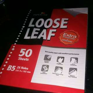Paperline Loose Leaf Kertas Binder
