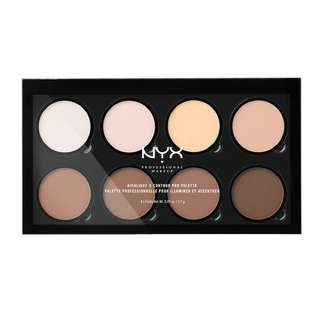 NYX Countour and Highlighter Palette