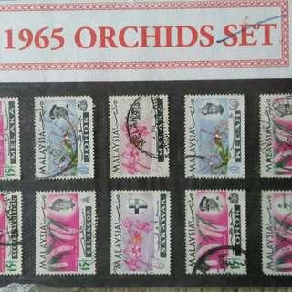 Malaysian vintage stamp