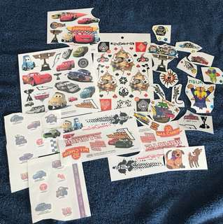 Boys tattoos 55 pcs