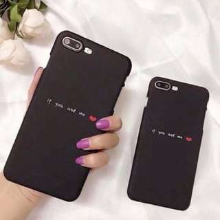 If you & me   iPhone case