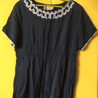 Blue dress (maternity)