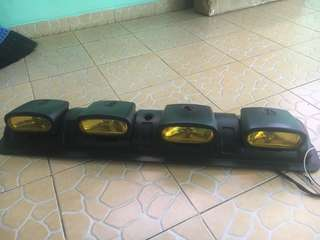 Lampu Sunroof, Lampu Offroad, Light Bar