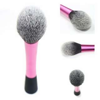 KUAS POWDER BLENDING BRUSH- ROSE