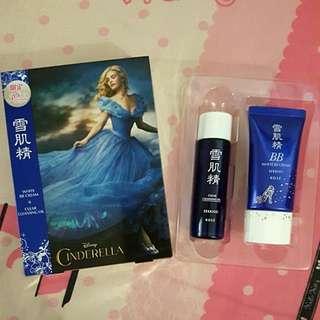 KOSE Sekkisei DISNEY Cinderella White BB Cream set