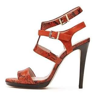 Mimco Talitha Sandal in Paprika. Size 41