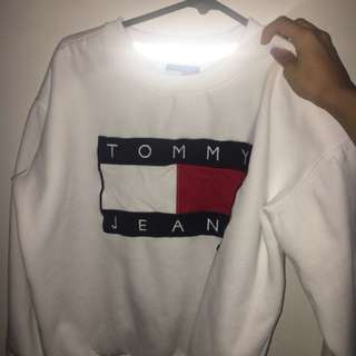 Tommy white Jumper