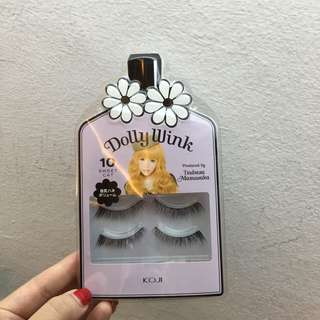Dolly Wink 10 Sweet Cat False Fake Eyelashes