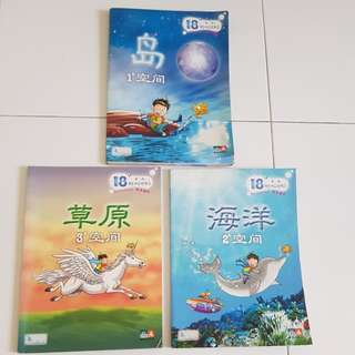 Set of Chinese readers for primary school