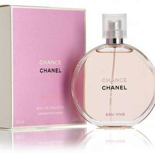 Chanel Chance Eau Vive Perfume - 100ml