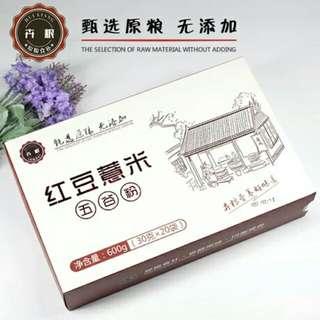 紅豆薏米粉600克盒裝