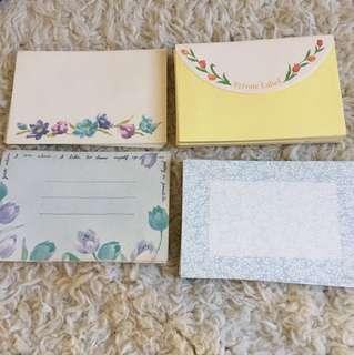 Envelopes floral