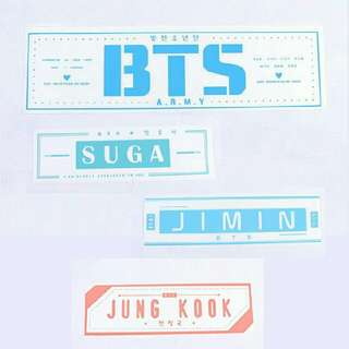 BTS Banner (READY STOCK)