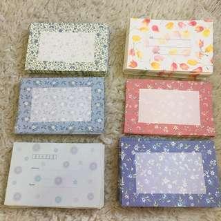 Envelopes 🌸 🌺 🌹