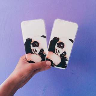 ON HAND Panda Silicon Case